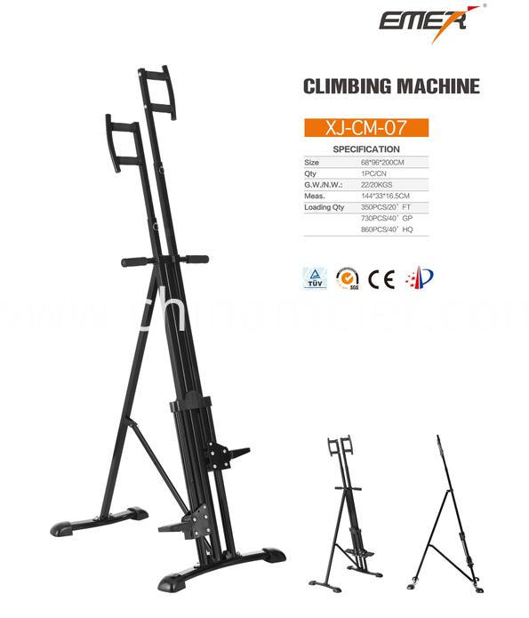 Home use climber exercise machine