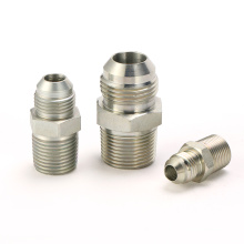 Winner nipple connector hydraulic JIC/BSPT union male straight china pipe fittings