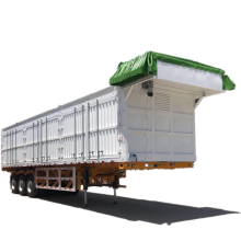 6 Axle Dumper Semi Trailer For Uzbekistan