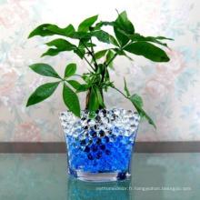 Eau de boue terre / eau perle / cristal d'eau pour le chargeur de vase