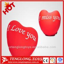 2014 HOTsale amor romántico de felpa almohada amor
