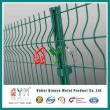 3D Galvanized PVC Coated Welded Wire Fence