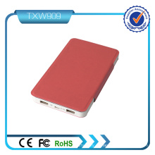 Colorido Dual USB de salida 5V 3.1A cargador USB Power Bank