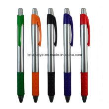 Подгонянный Логос нажмите шариковая пластиковая ручка для рекламы