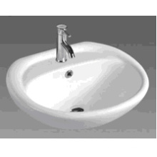 Cuarto de baño de cerámica cabina de lavabo (D601)