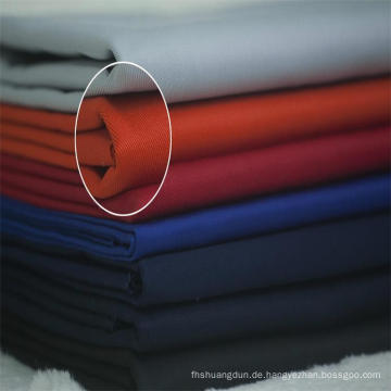 Steifigkeit Touch Arbeit tragen Polyester Baumwoll-Twill-Stoff