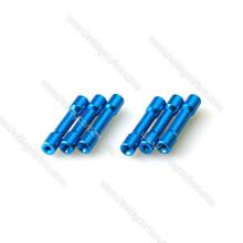 Farbiger Aluminiumrunder Kopf Schritt-Distanzscheibe / Distanzhülse / Säule für FPV Drone / RC Toys