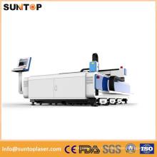 Machine de découpe au laser en acier inoxydable de 4 mm / Machine de découpe au laser en acier au carbone de 10 mm
