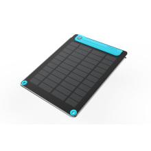 Bateria recarregável 2000mAh 3.5W painel solar flexível