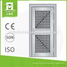 Projeto da porta do aço 304 inoxidável com boa superfície feita em China