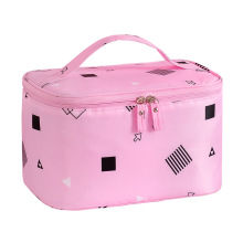 Wholesale Plain Large Waterproof Travel  Pink Makeup Bag Cosmetics Bags  for Mens