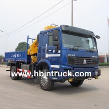 Camión grúa de camión Howo Off-Road 4 x 4 a la venta