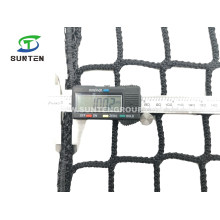 Factory Supply Lightweight Black Color Polyester Knotless Safety Catch Net/Netting/Truck Elastic Plastic Hooks Car Webbing Luggage Trailer Pickup Cargo Nets
