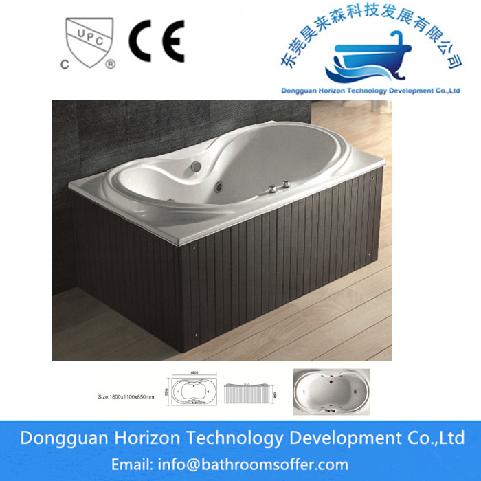 Hydromassage Acrylic Bathtub