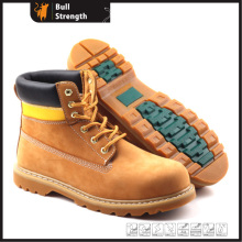 Industrial Geniune Leather Safety Shoes with Good Year Quality (SN5141)