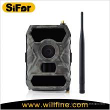 caméra de sécurité sans fil à piles avec 3G / WIFI / MMS / GPRS / SMTP option 12MP 720P vidéo