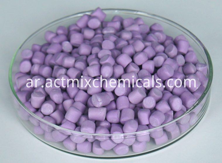 Actmix®DPG-80 Stained Color Polymer-bound Accelerator Masterbatch
