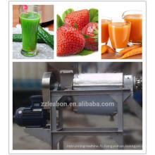 Machine de jus de fruit de la passion de grande capacité