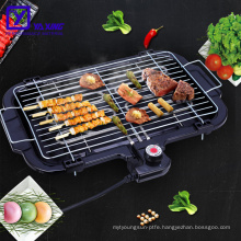 Tabletop bbq grill with thermostat height adjustable for homeuse electric barbecue grill