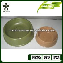 Bio bambu fibra cão tigelas