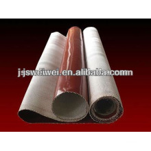 China VEIK different colors fiberglass silicone rubber coated fiberglass cloth 0.15mm-2.00mm thickness max. 3.4m width