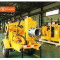Diesel Engine Water Pump with Trailer