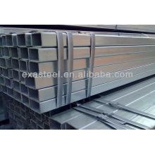 Q235 verzinkte rechteckige Stahlrohre / galvanisiertes quadratisches Rohr / Rohr mit hoher Qualität