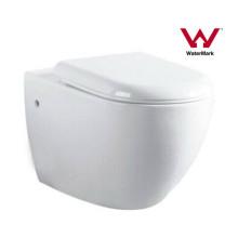 Cuarto de baño Watermark cerámica Wall Hung Toilet (6005)