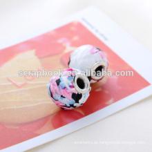 Top Kosmetik Perlen Farbe mit dekorativen Muster