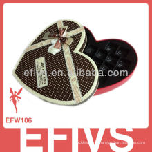 Venda quente chocolate elegante marrom caixa favor caixa Fornecedor