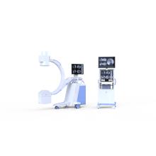 Equipo de radiología de máquina de sistema de brazo en C móvil de alta frecuencia
