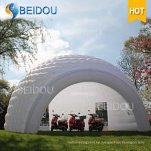 Boda Camping Trailer Parte Inflable Evento Doblar Estrella Domo Tiendas