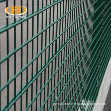 Germany double rod mat pvc coated double fence twin wire panel fence