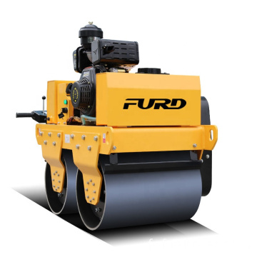 Vibratory roller manual vibrating roller hand push road roller FYL-S600C