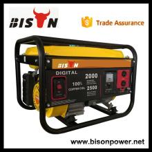 BS2500EG BISON China Taizhou 2kv 2kva 2.5kva Low Noise Easy Start Benzin Generator Set mit Fabrik Preis