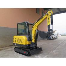 rubber track hammer mini digger excavator