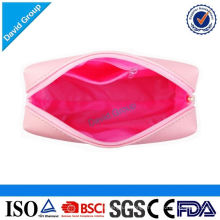 Money Safe Alibaba Top Supplier Hot Recommendation Logo Customized Popular Goods Vinyl Cosmetic Bag