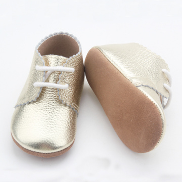Оптовая Lacework Baby Unisex Oxford Shoes
