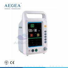 AG-BZ007 Facile transportant la batterie rechargeable hôpital ICU salle moniteur patient fournisseur moniteur patient
