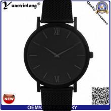 YXL-199 моды кожа из нержавеющей стали часы Vogue очаровательных женщин леди наручные часы кварцевые водонепроницаемые часы