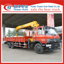 Dongfeng 6x4 8000 kgs caminhão guindaste para venda