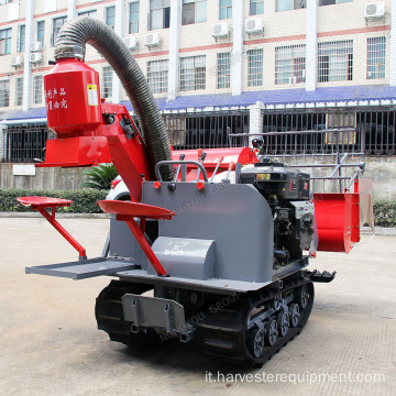 Wheat Harvester 4LZ-0.8 OEM Mini Paddy Harvester