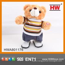 Funny stuffed toy bear electric plush bear toy