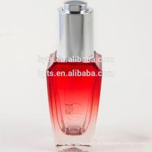 botella elegante del dropper del vidrio 30ml de lujo de la venta caliente para el aceite esencial