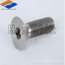titanium countersunk head bolt DIN7991