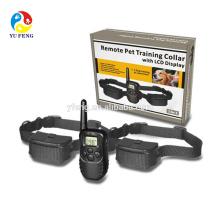Fernbedienung Wasserdicht LCD Elektronische Schock Remote Hundehalsband Elektrische Pet Training Kragen Pet Trainer mit Gürtel