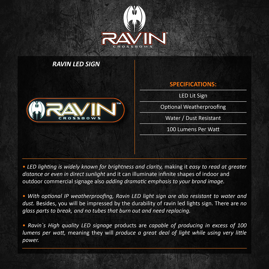 Ravin_LED_Sign_Product_Description