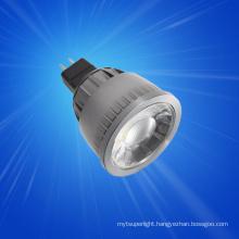 Shenzhen Wholesale small led spot light MR11 AC/DC 12V 1PCS 30 degree 1w led spotlight
