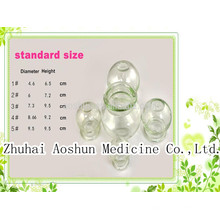 Traditional Medicine Glass Cupping Cup Set