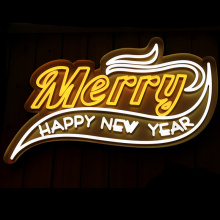 CHRISTMAS DECORATION NEON LIGHT SIGNS
